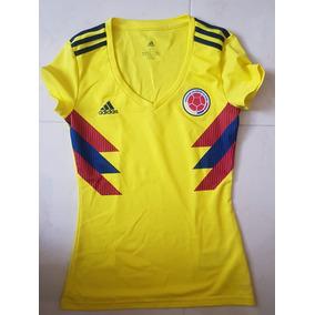 Playera Seleccion Colombia Mujer en Mercado Libre México 23a7b6b7c5027