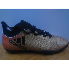 finest selection e83cf 2e972 Tenis adidas X Tango 17.3 Bronce   Negro Caballero