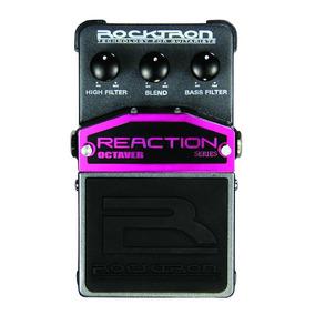 Pedal De Efeitos Rocktron Reaction Octaver Para Guitarra