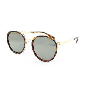 Óculos De Sol Polaroid - Pld6032 s 086lm - Dourado 21efb6cc7b