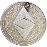 Ethereum Classic Moneda Modelo One 1 Onza Con Cápsula!