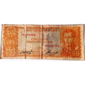 Nota 50 (cinquenta) Pesos Bolivianos