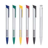 20 Caneta Plastica Brinde Personalizada À Laser Barato Logo