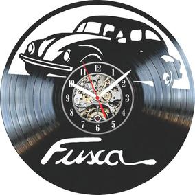 Relógio De Parede, Disco De Vinil, Fusca 2 Vw, Retrô,decorar