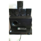 Home Theatre Sony 5 Parlantes Y Subwoofer Dvd Hdmi Tz130