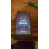Iphone 5g Gris Espacial Con Icloud