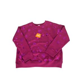 Sudadera Gymboree Para Niña Color Rosa Con Corazones