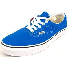 Vsv Oferta Zapatos Vans Azul Rey 36 Al 40 (tienda Fisica)