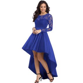 106199688 Vestidos De Noche Azul Rey Largos Mujer Puebla - Vestidos Azul en ...