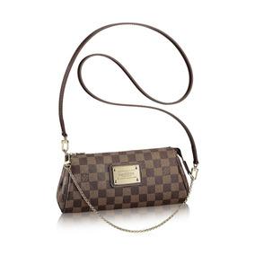 3bb5dfffb Bolsa Pochete Eva Clutch Louis Femininas Couro Vuitton - Bolsas no ...