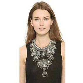 Collar De Declaracion Para Las Mujeres - Joyeria Plateada La