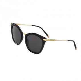 9d79a50aca75d Calvin Klein Ck  culos De Sol 3130s 001 Preto 55mm - Óculos no ...