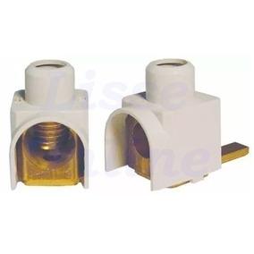 Conector Terminal Para Disjuntor Din Genérico 16mm Frontal
