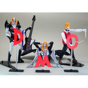 Detroit Metal City - Set Com 3 Figuras Revoltech - No. 055 (