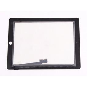 Tela De Vidro Touch Digitalizador For Ipad 3 E 4 Preto