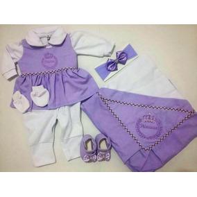8b9b9398a502a Conjuntos Azul violeta de Bebê no Mercado Livre Brasil