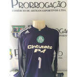 ** Palmeiras # adidas # Marcos 1 # Usada Em Jogo ***