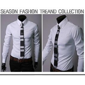 Camisa Social Masculina Slim Fit Luxo Pronta Entrega