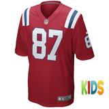Camisa New England Patriot Gronkowski - Camisetas de Futebol ... 76a31e06bf92d