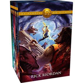 Livro - Box Heróis Do Olimpo (5 Livros) - Lacrado!