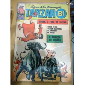 Tarzan-bi Nº 23 Korak O Filho De Tarzan Editora Ebal P/b