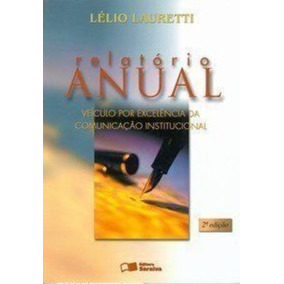 Livro Relatório Anual Lélio Lauretti
