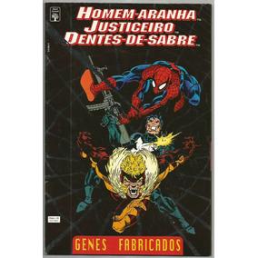 Homem-aranha & Justiceiro - Genes Fabricados - 1994