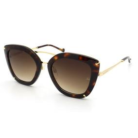 Óculos De Sol Feminino Ana Hickmann Ah3174 G21 54 - Original fa73e7a6d4