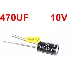 Condensador Filtro 470uf 10v