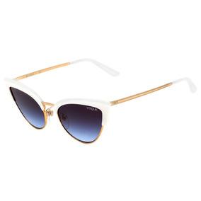 Oculos De Sol Vogue Dourado - Óculos no Mercado Livre Brasil c310de92c7