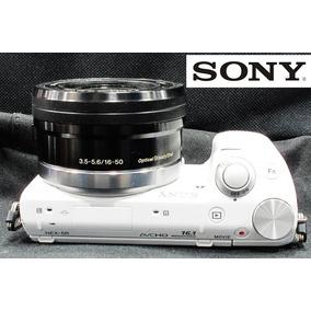 Câmera Sony Nex 5r C/ Lente Sony 16-50mm Oss - 3.027 Clicks