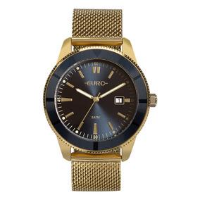 Relógio Euro Feminino Dourado Eu2115al/4a