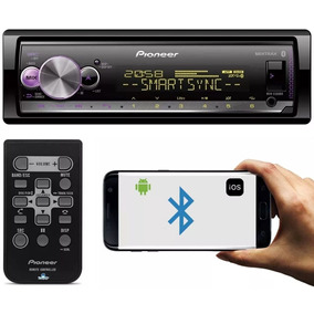 Toca Mp3 Player Pioneer Mvh-x300br Bluetooth Iphone Mixtrax