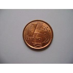 Moeda De 1 Centavo Real - 2000
