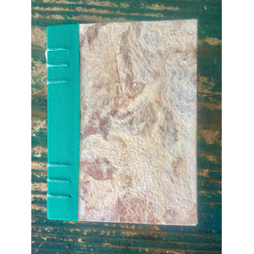 Cuaderno Artesanal | Papel Amate Y Tela | Papel De Dibujo