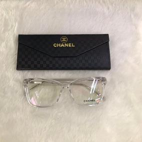 b4b071f2d3278 Oculos Feminino Chanel Transparente De Grau - Óculos no Mercado ...