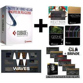 Pacote De Plugin/ Izotope +cla Vocals / Cla Mixdow,+wavesv10