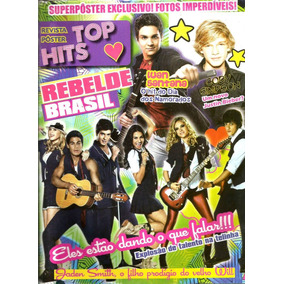 Revista Poster Top Hits - Luan Santana/cody Simpson