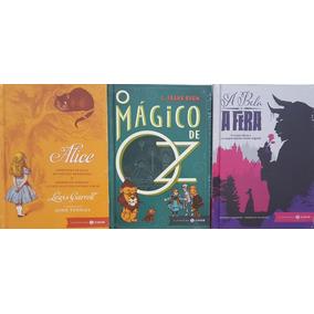 Clássicos Infantís Zahar Luxo 3 Livros Capa Dura Frete Gráti
