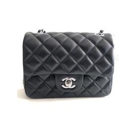 Bolsa Chanel Classic Mini Lambskin Original Com Caixa