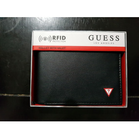 Billetera/cartera Original Guess Color Negro, Envio Gratis