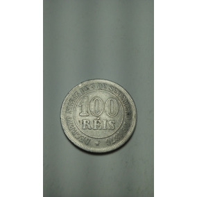 Moeda 100 Réis 1874 Cupro Níquel