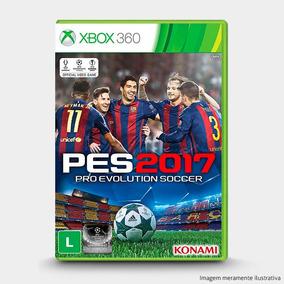 Pes Pro Evolution Soccer 2017 - Original P/ Xbox 360 - Novo