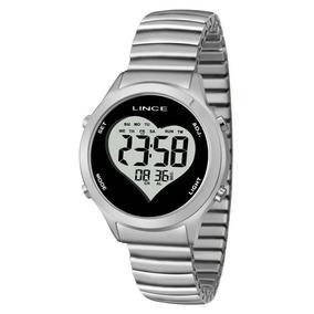09525c1c9f8 Relógio Dourado Fundo Preto Lince - Relógios De Pulso no Mercado ...