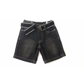 Bermuda Jeans Infantil U.s Polo Assn. Tamanho 4 Anos