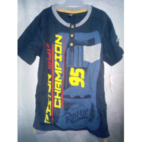 Playera Estampada De Cars Champion 95 Talla 3