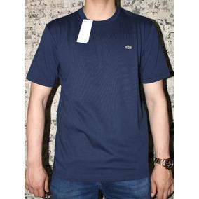 729f8b9ccf848 Camisa Original Lacoste Sport Ultra Dry Azul Marinho