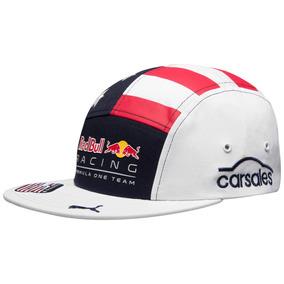 Bone Red Bull Aba Reta Branco - Bonés no Mercado Livre Brasil d553671c30c