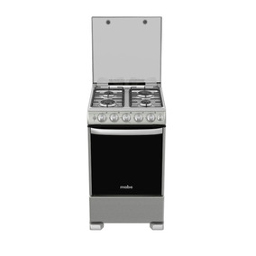Cocina A Gas De 50 Cm Inox Mabe-cme5545cazx0