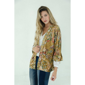Saco Dama - Limite - Kimono Velvet Print
